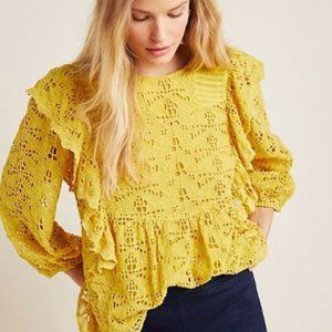 Anthropologie Clementine Blouse